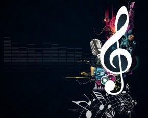 Музыкальные картинки - Фоны \ Картинки \ Изображения \ Обои