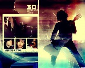 30 Seconds To Mars - Обои \ Фоны \ Изображения \ Картинки