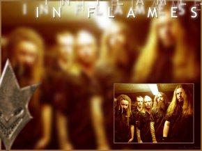In Flames - Обои  Фоны  Картинки
