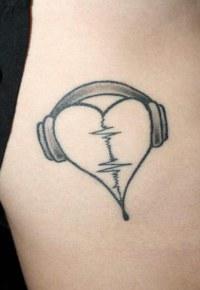 Подборка музыкальных татуировок (Тату музыкантов)
