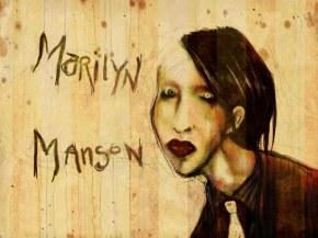 Marilyn Manson - Обои группы, фоны картинки