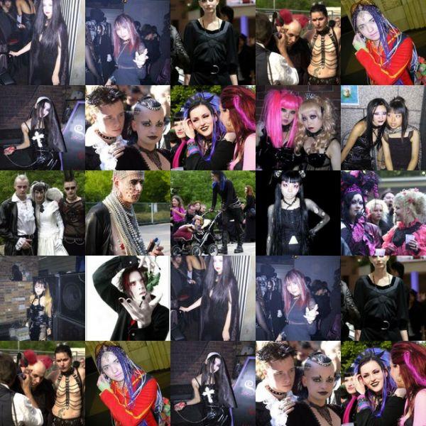 Список субкультур молодежи