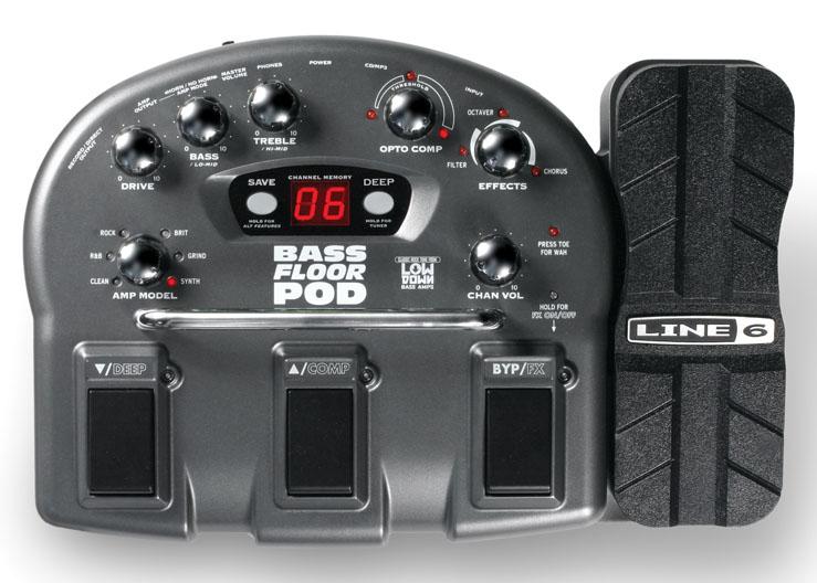 Процессор для бас-гитар Line 6 Bass Floor POD.