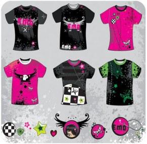 Эмо мода: черно-малиновая печаль бытия