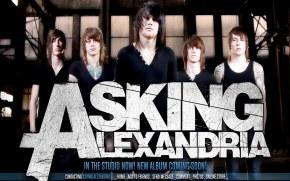 Asking Alexandria - Фоны и обои группы на рабочий стол