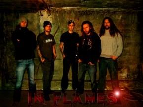 In Flames - История группы, биография, фотографии