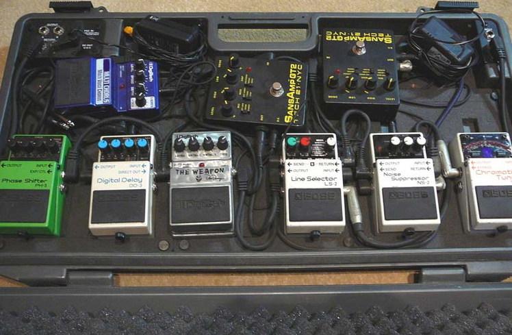 Примочки для электрогитары.