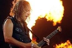Техники Metallica обгорели во время концерта
