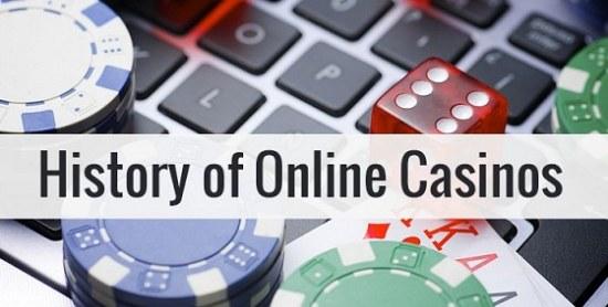 Как появилось онлайн казино