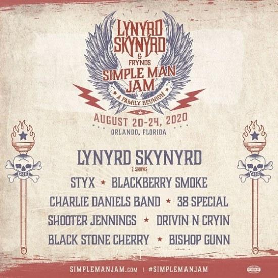 Lynyrd Skynyrd проведет в августе музыкальный фестиваль в Орландо