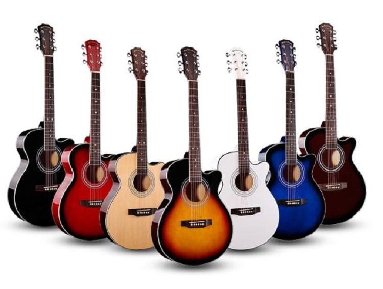 Отличия акустической гитары и критерии ее выбора